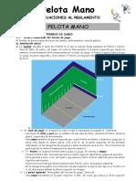 Reglamento de Pelota Vasca 09
