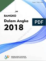 Kecamatan Bangko Dalam Angka 2018