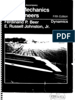 Vector Mechanics - Dynamics - F Beer & E Russel - 5th Edition Solution Book