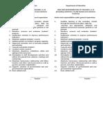 teacher 1, II, III - duties & responsibilities