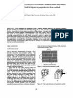 Compressibility of coal and its impact on gas production from coalbed reservoirs
