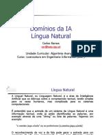 6 - T Slides ALGAV Dominios IA - Lingua Natural