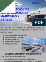 Operaciones tranposte marítimo y aéreo