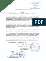 DECRETO DE APROBACIÓN DE LAS NORMAS DE COFRADÍAS DE LA DIÓCESIS DE SALAMANCA