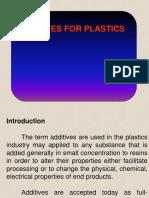 Additives in plastic materials