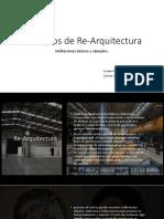 Principios de Re-Arquitectura