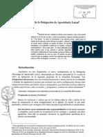 Reglamento Delegación Diocesana de Apostolado Laical. SALAMANCA