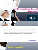 What is the Future Career Scope of ServiceNow