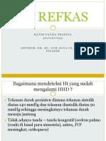 PR REFKAS dr Anna ratihfp