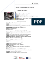Fiche de Travail comunicar em Francês