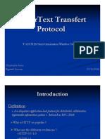 HyperText Transfert Protocol