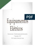 Equipamentos Elétricos - TIs