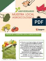Muestra Agroecológica de Zaragoza - Presentación
