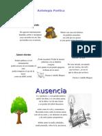 anatologia poetica