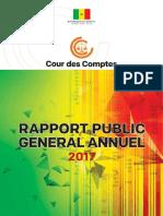 Rapport Cour des comptes Sénégal 2017