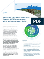 Agricultural Commodity Responsible Sourcing ACRES