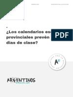¿Los Calendarios Escolares Provinciales Prevén 180 Días de Clase_ (1)