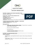 MSDS Brake-fluid-DOT-3
