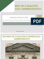 PRESENTACIÓN RECURSO CASACION