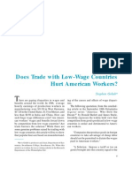 Doest Trade With LWC Hurt American Workers_Stephen Golub 1998