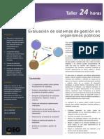 Evaluación de sistemas de gestión en organismos públicos