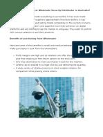 IP CCTV and IP Cameras | Elite Wholesalers