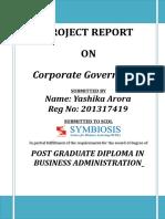 11. Corporate Governance