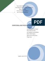 Indústria de papel e celulose