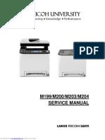 Ricoh Aficio SPC250SF SPC252DN Service manual.pdf