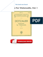 [PDF] Exercises For Violoncello Vol 1