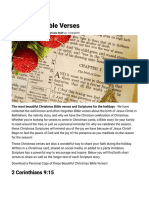 Inspiring Christmas Bible Verses - Beautiful Scriptures & Holiday Quotes