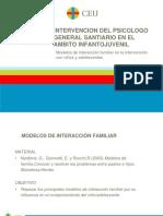 T.15 Modelos de interacción familiar en la intervención con niños y adolescentes