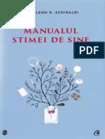 Manualul stimei de sine - Glenn R. Schiraldi