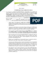 ACTA DE COMPROMISO SEGUNDOS BACHILLERATOS