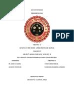 DEMONETISATION REPORT