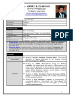 Dr. Ahmed Taher El-Habab, R&D Chemist Consultant CV