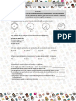 Matemática | 6º ano | Teste 1