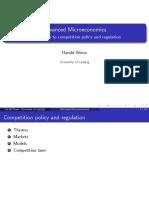 Advanced microeconomics.. Competetion ..