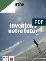 La Recherche Juillet Aout 2010 Inventons Le Futur Supplement Ademe