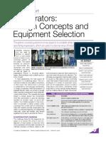 EVAPORATORS DESIGN CONCEPTS AND EQUIPMENT SELECTION