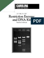 Restriction Enzyme Dna Kit