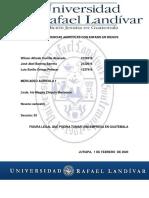 FIGURA LEGAL DE UNA EMPRESA EN GUATEMALA