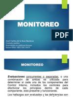 ACTIVIDADES DE MONITOREO