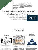 Alternativas al mercado nacional de chatarra ferrosa en Colombia