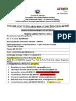 CONSELHOS TUTELARES DO MUNICIPIO DE MACEIO-2016