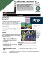 Intro to Modern & Contemporary Art Course 1 Class 4