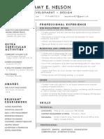 linkedin resume 2020