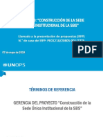 Presentacion - TDR SBS UNOPS 20180502 PDF