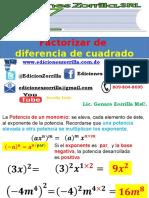 6 Factoriz de un Binomio (am)2-(bn)2.pptx