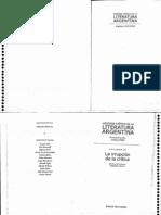 Jitrik Noe - Historia Critica de La Literatura Argentina - Tomo 10